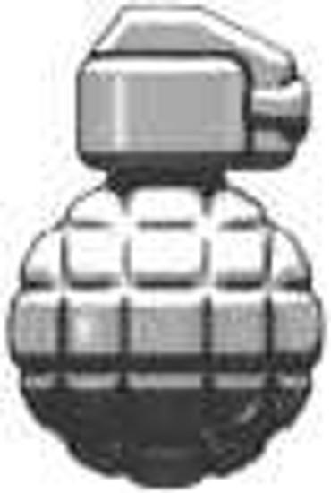 BrickArms Mk2 Grenade 2.5-Inch [Titanium]