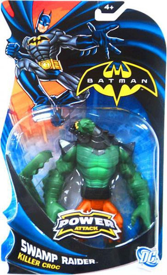 Batman Power Attack Killer Croc Action Figure [Swamp Raider]