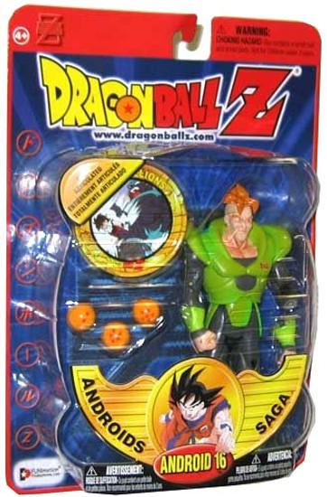 Dragon Ball Z Series 6 Androids Saga Android 16 Action Figure