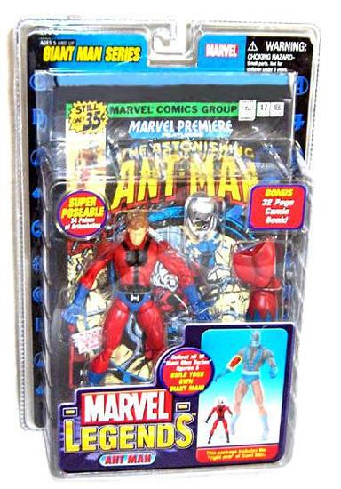 Marvel Legends Giant Man Build A Figure Ant-Man Exclusive Action Figure