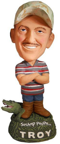 Swamp People Troy Bobble Head