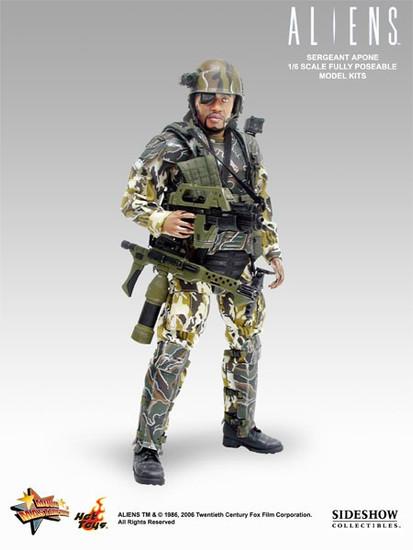 Aliens Movie Masterpiece Sergeant Apone Collectible Figure