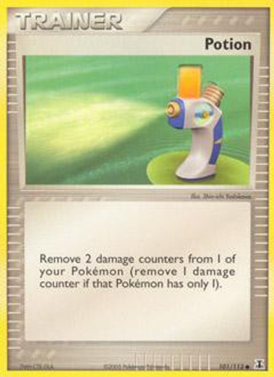 Pokemon EX Delta Species Common Potion #101