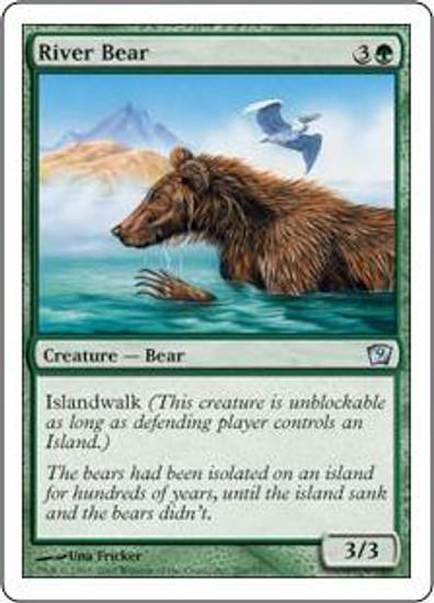 MtG 9th Edition Uncommon River Bear #266
