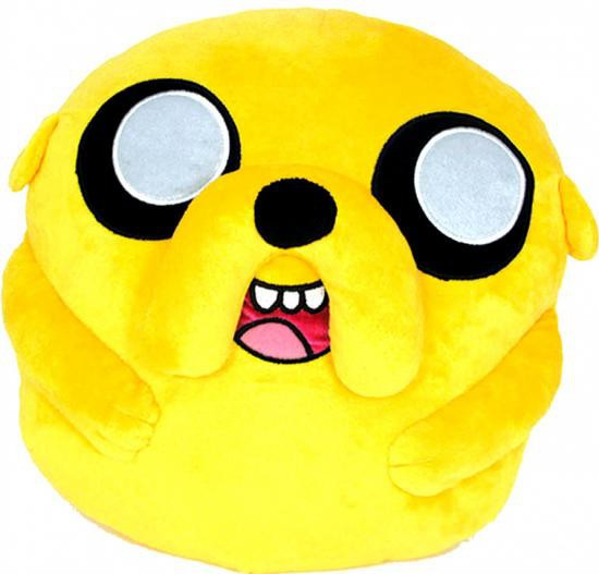 Adventure Time Pillow Cuddle Jake 16-Inch Plush