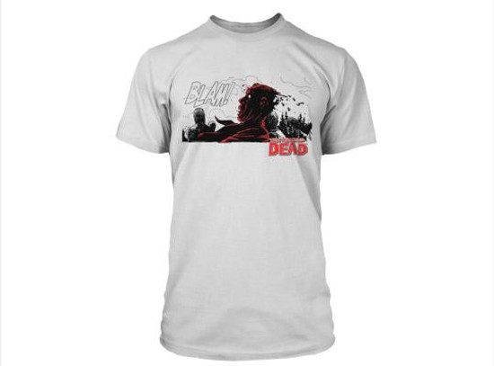 The Walking Dead Comic BLAM T-Shirt [Small]