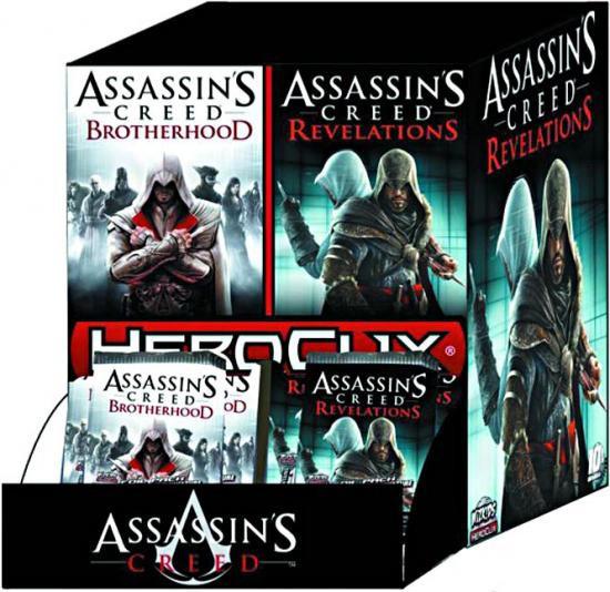 Assassin's Creed HeroClix Brotherhood & Revelations Booster Box