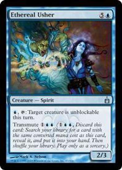 MtG Ravnica: City of Guilds Uncommon Ethereal Usher #47