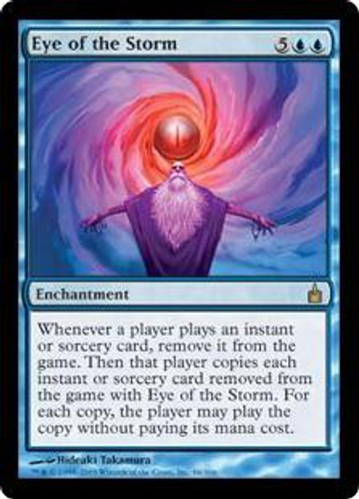 MtG Ravnica: City of Guilds Rare Eye of the Storm #48