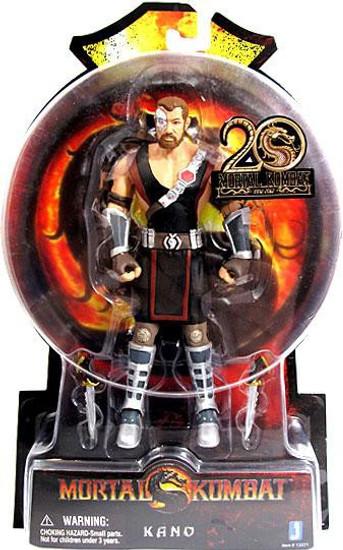Mortal Kombat 20th Anniversary Kano Action Figure