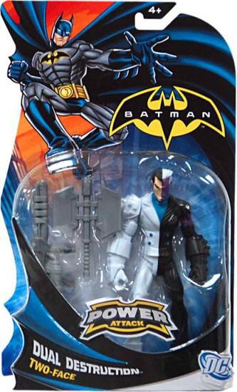 Batman Power Attack Two-Face Action Figure [Dual Destruction]