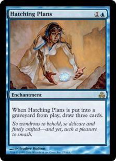 MtG Guildpact Rare Hatching Plans #27