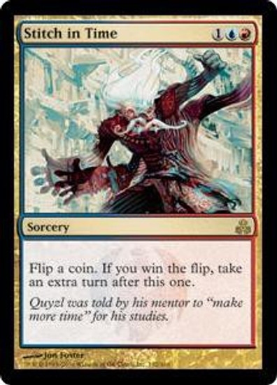 MtG Guildpact Rare Stitch in Time #132