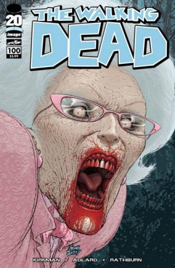 Image Comics The Walking Dead #100 Comic Book [Frank Quitely Cover]