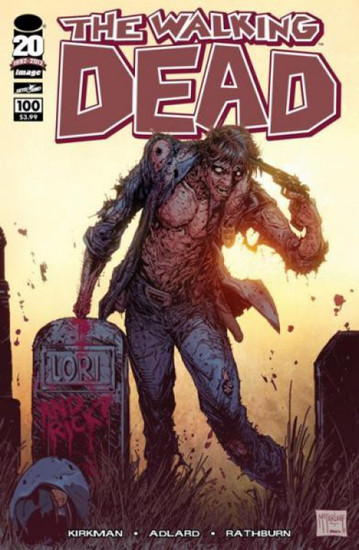 Image Comics The Walking Dead #100 Comic Book [Todd McFarlane Cover]