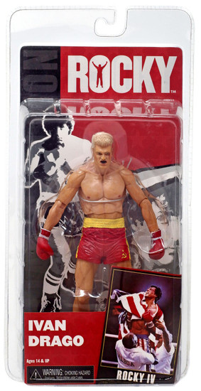 NECA Rocky IV Series 2 Ivan Drago Action Figure [Post Fight]