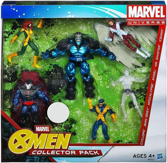 Marvel Universe X-Men Collector Pack Exclusive Action Figure Set