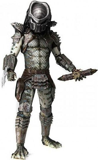 NECA Predator 2 Quarter Scale Warrior Predator Action Figure