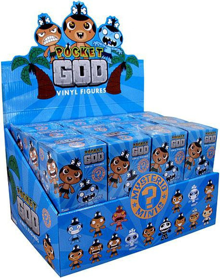 Funko Mystery Minis Pocket God Mystery Box [24 Packs]