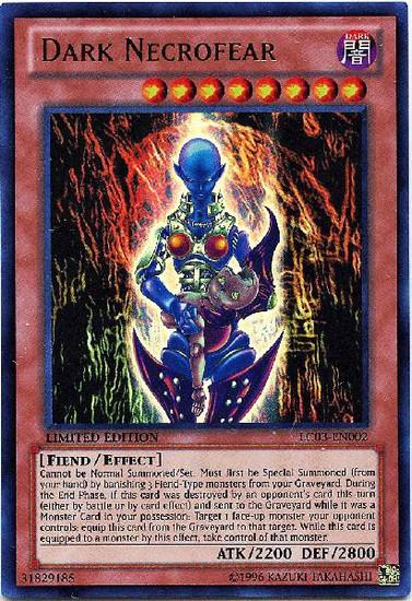 YuGiOh Legendary Collection 3 Ultra Rare Dark Necrofear LC03-EN002