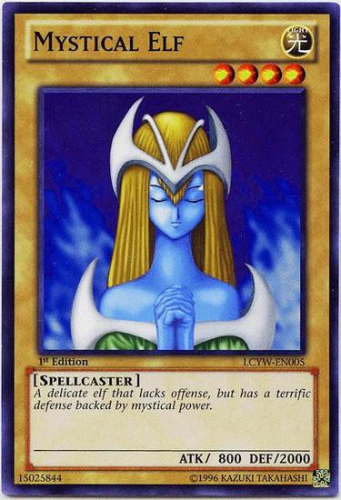 YuGiOh Legendary Collection 3 Common Mystical Elf LCYW-EN005