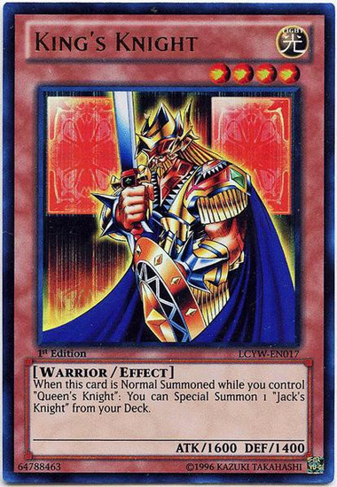 YuGiOh Legendary Collection 3 Ultra Rare King's Knight LCYW-EN017