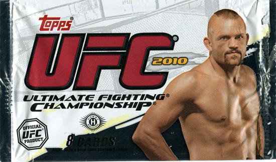 UFC Ultimate Fighting Championship 2010 Trading Card HOBBY Pack