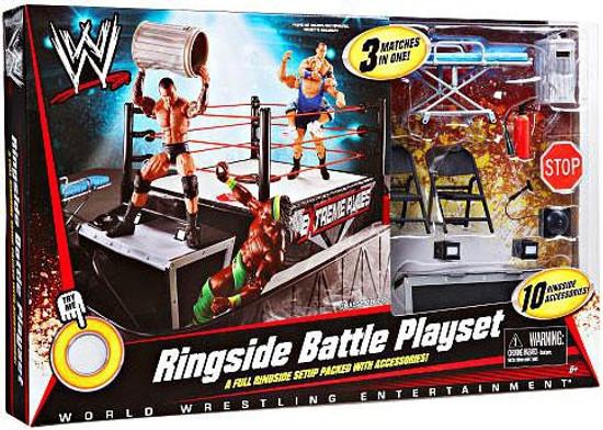 WWE Wrestling Ringside Battle Exclusive Action Figure Playset