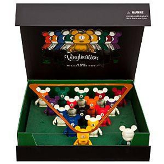 Disney Mickey Mouse Vinylmation Billiards Set Exclusive 3-Inch Vinyl Figures