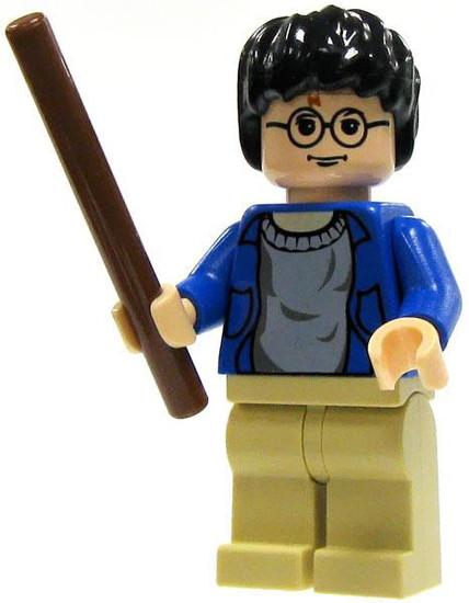 LEGO Harry Potter Minifigure #1 [Blue Sweater, Tan Pants Loose]