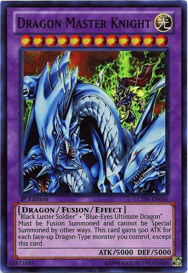 YuGiOh Legendary Collection 3 Super Rare Dragon Master Knight LCYW-EN050