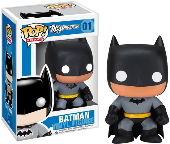 Funko DC Universe POP! Heroes Batman Vinyl Figure #01 [Grey Suit]