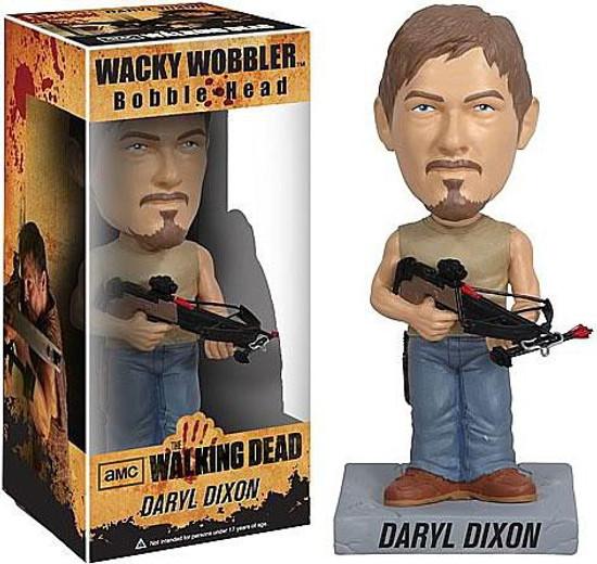 Funko The Walking Dead Wacky Wobbler Daryl Dixon Bobble Head