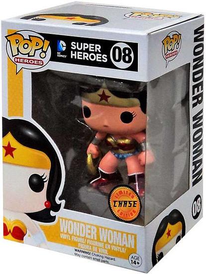 Funko DC Universe POP! Heroes Wonder Woman Vinyl Figure #08 [Metallic, Chase Version]