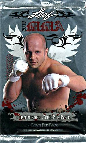 MMA Series 2010 2010 Leaf MMA Trading Card Pack