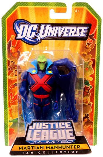 DC Universe Justice League Unlimited Fan Collection Martian Manhunter Action Figure