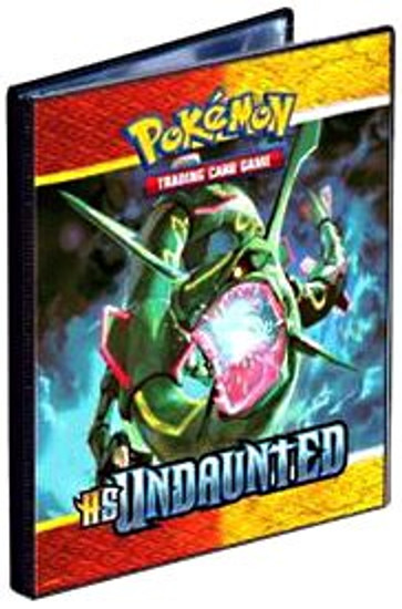 Ultra Pro Pokemon HeartGold & Soulsilver Undaunted Rayquaza & Skarmory 4-Pocket Binder