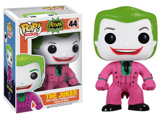 Funko Batman 1966 TV Series POP! Heroes The Joker Vinyl Figure #44 [1966 TV Series]