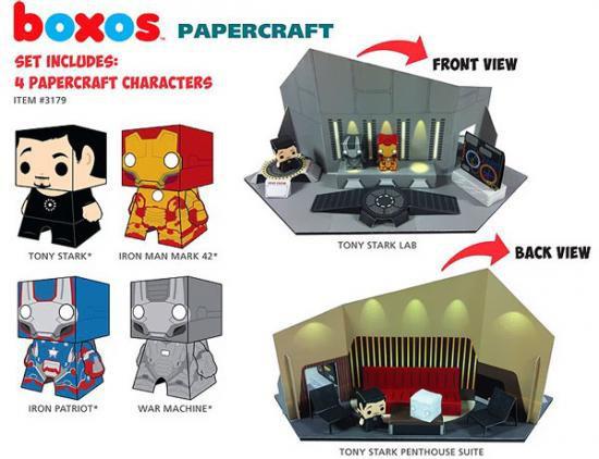 Funko Boxos Iron Man 3 Playset