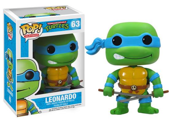 Funko Teenage Mutant Ninja Turtles POP! TV Leonardo Vinyl Figure #63