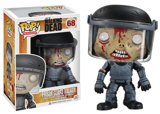 Funko The Walking Dead POP! TV Prison Guard Walker Vinyl Figure #68
