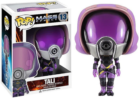 Funko Mass Effect POP! Games Tali'Zorah nar Rayya Vinyl Figure #13