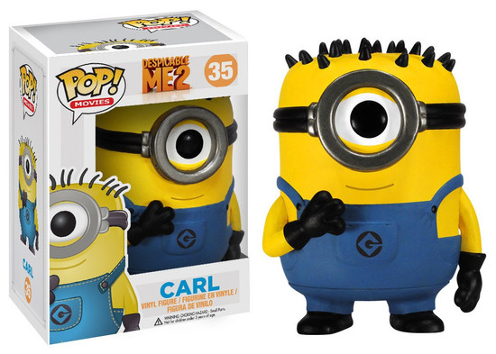 Funko Despicable Me 2 POP! Movies Carl Vinyl Figure #35