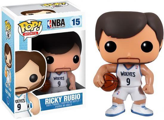Funko NBA POP! Sports Basketball Ricky Rubio Vinyl Figure #15