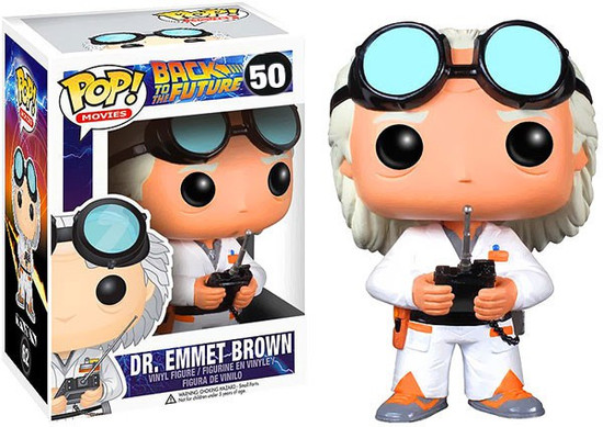 Funko Back to the Future POP! Movies Dr. Emmet Brown Vinyl Figure #50
