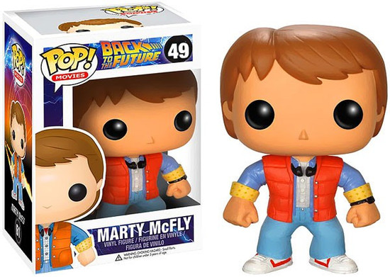 Funko Back to the Future Marty McFly Vinyl Figure #49