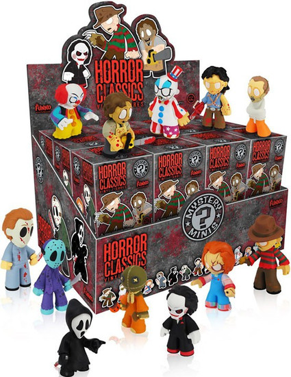 Funko Mystery Minis Horror Classics Series 1 Mystery Box [24 Packs]