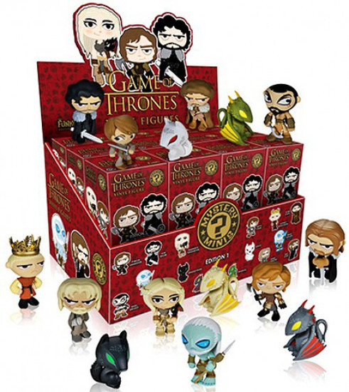 Funko Mystery Minis Game of Thrones Series 1 Mystery Box [24 Packs]