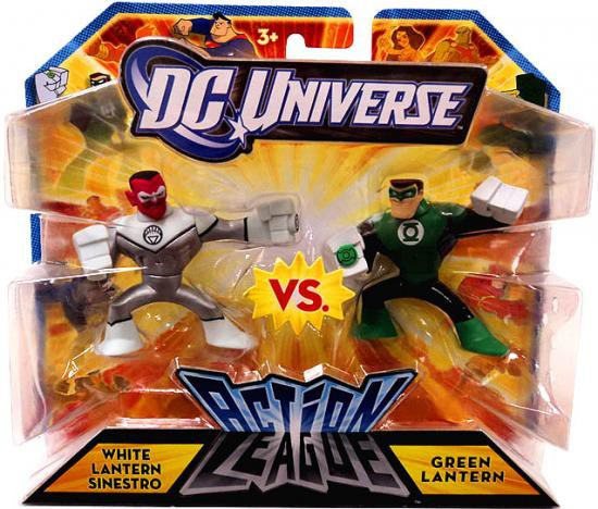 DC Universe Action League White Lantern Sinestro vs. Green Lantern 3-Inch Mini Figures