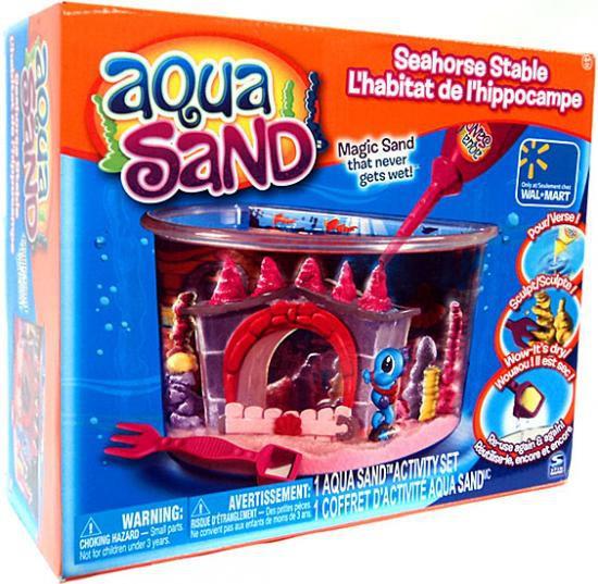 Aqua Sand Seahorse Stable Exclusive Activity Set